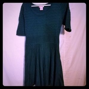 Candie's green dress size large